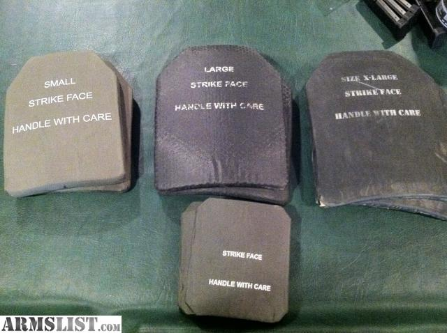 For Sale Level III and Level IV Ceramic Body Armor Plates different sizes & ARMSLIST - For Sale: Level III and Level IV Ceramic Body Armor ...