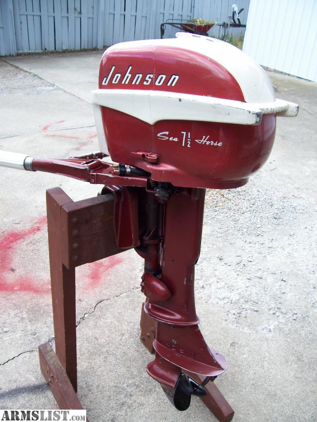 Armslist for sale trade beautiful johnson 7 5 hp for 5hp outboard motor for sale