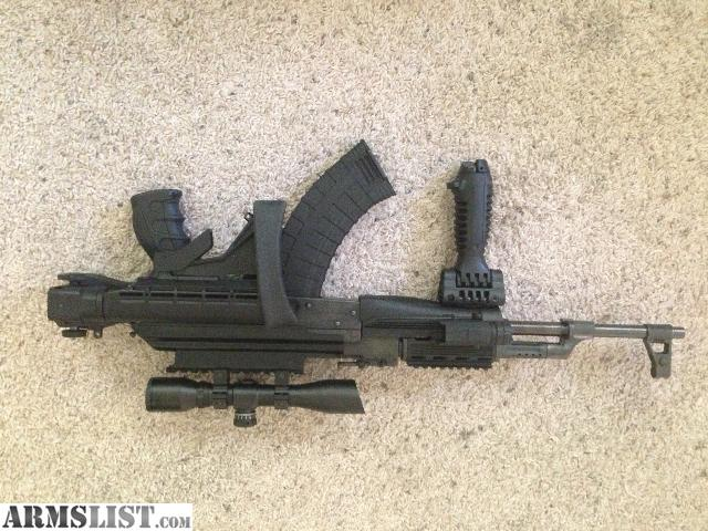 ARMSLIST - For Sale/Trade: Norinko mac90 with mods