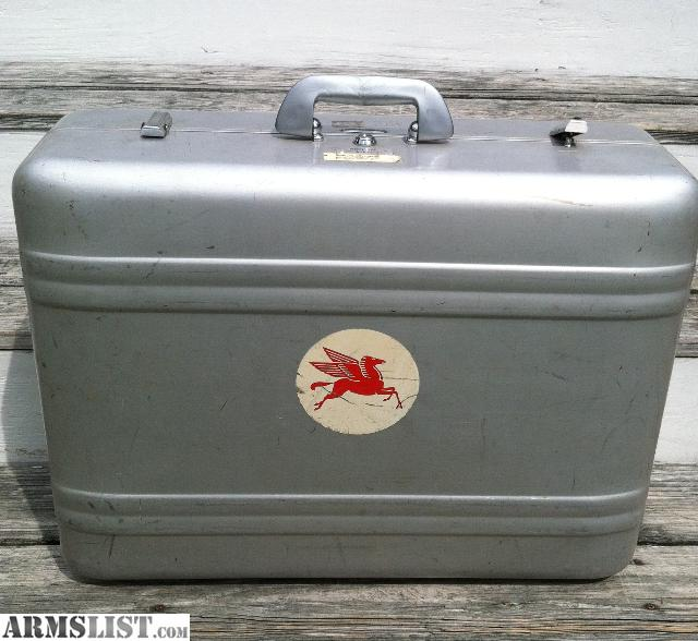 ARMSLIST - For Sale: ZERO HALLIBURTON ALUMINUM CASE