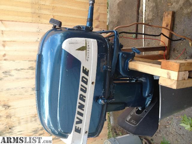 Armslist For Sale Trade Evinrude Outboard Boat Motor