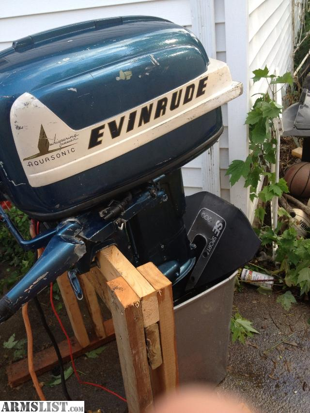 Armslist for sale trade evinrude outboard boat motor for Electric outboard motors for sale