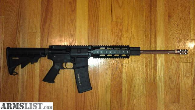 ARMSLIST - For Trade: 300 BLACKOUT STAINLESS FLUTED BARREL ...