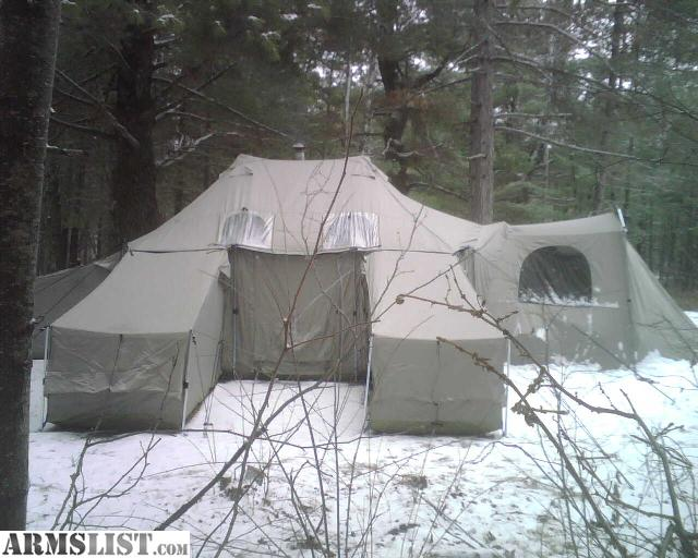 I have a complete Cabelas ISQ Tent. comes with 6 sleeping pods extra floor liner and roof liner comes with vestibule and a Colorado Cylinder wood burning ... & ARMSLIST - For Sale/Trade: Complete Cabelas ISQ Tent