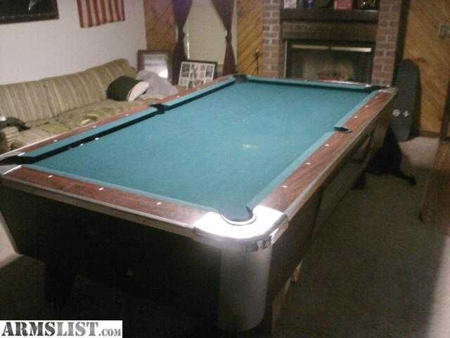 Unfortunately I Have To Move Here Soon. I Do Not Want The Hassle Of Having  To Move My Pool Table From Place To Place So I Am Willing To Sell It Dirt  ...