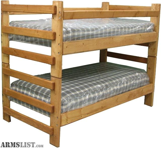 ARMSLIST For Sale Trade Custom Bunk Beds and twin beds