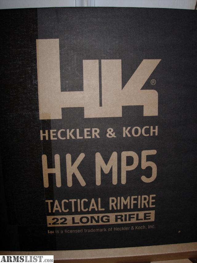 Hk mp5 sd22 with 25 round magazine in box 600 trade for handguns