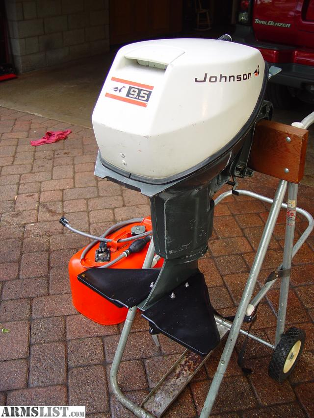 Armslist for sale 9 5 hp johnson outboard motor for Johnson evinrude outboard motors for sale