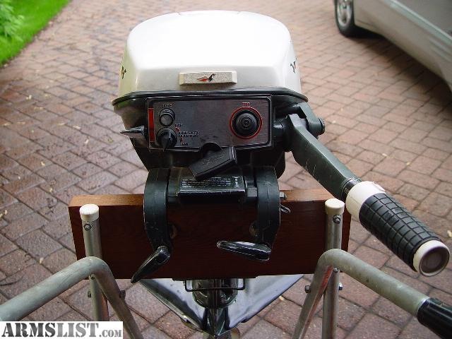 Armslist for sale 9 5 hp johnson outboard motor for 4 horse boat motor