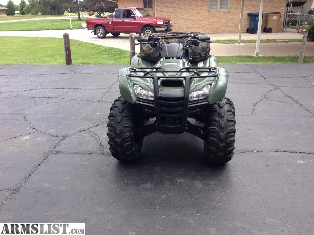 Armslist For Sale Wts 2011 Honda Rancher 420 At 4x4