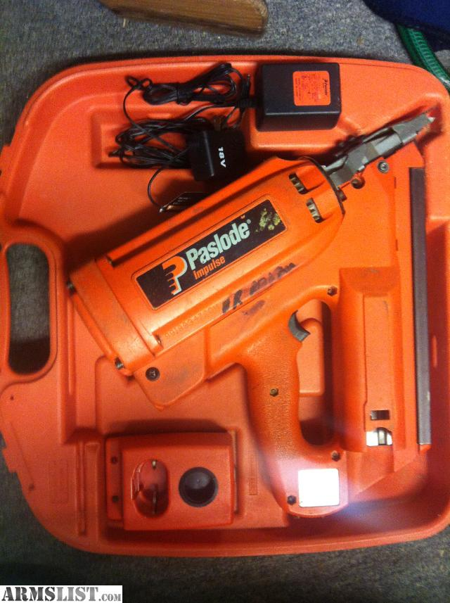 ARMSLIST - For Sale/Trade: 2 Cordless Paslode Nailers 30 Degree ...