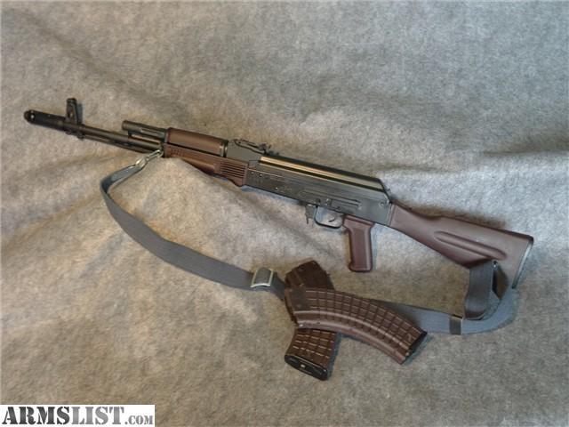 For Sale: SAIGA AK47 Plum Furniture + Rare And Unique