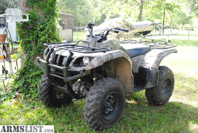armslist for sale trade 2008 yamaha grizzly 660 4x4 with only 76 hours. Black Bedroom Furniture Sets. Home Design Ideas