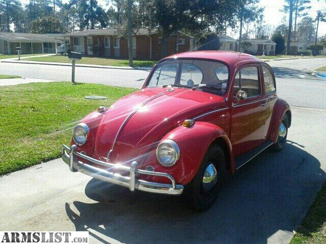 armslist for sale 1967 beautiful red vw beetle bug. Black Bedroom Furniture Sets. Home Design Ideas