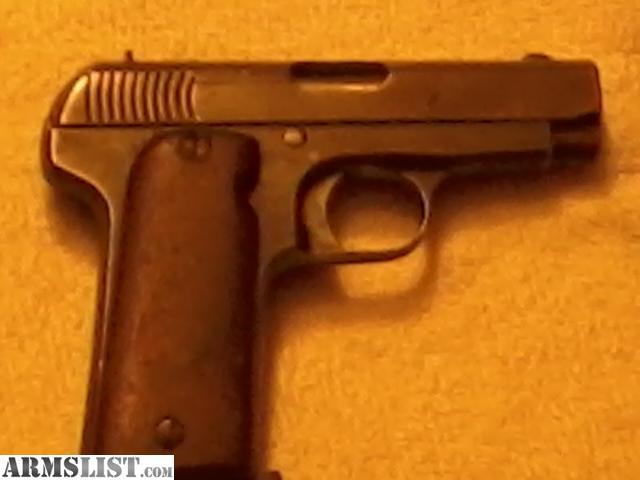 For Sale: PARAMOUNT 32 CAL HAND GUN, 9 BULLET