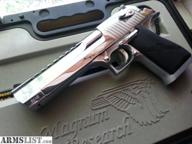 ARMSLIST - For Sale: polished chrome Desert Eagle .50