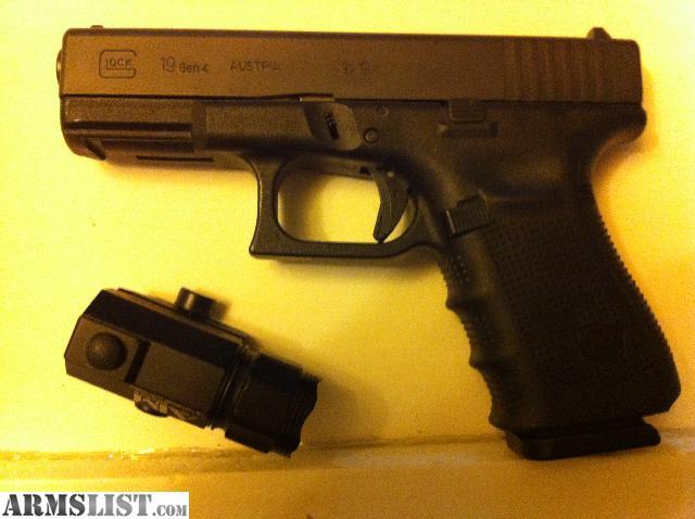 ARMSLIST - For Sale: BNIB Glock 19 Gen 4 w/Crimson Tracer ...