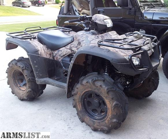 Honda Four Wheelers For Sale >> ARMSLIST - For Sale: 2012 Honda RUBICON 4X4 POWER STEERING ATV Four Wheeler