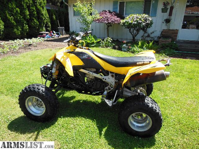 armslist for sale trade 08 can am ds450 with modified injection system trade for guns. Black Bedroom Furniture Sets. Home Design Ideas