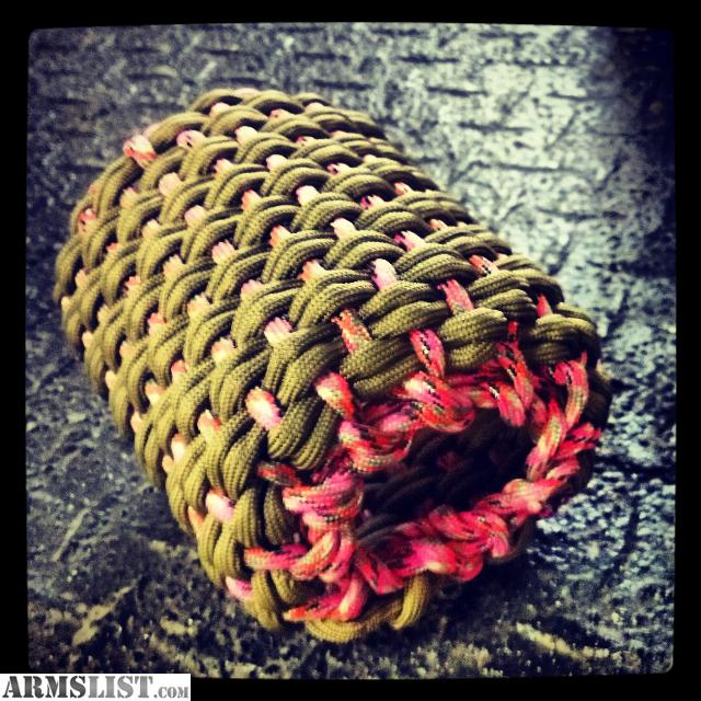 Armslist for sale something knotty paracord accessories for Paracord koozie how to make