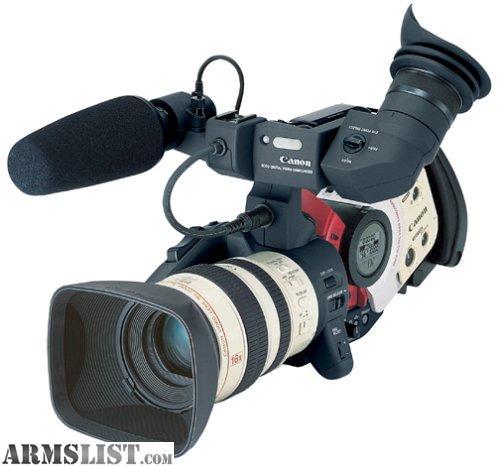 ARMSLIST - For Sale: canon xl1s pro video camera (hunters dream)