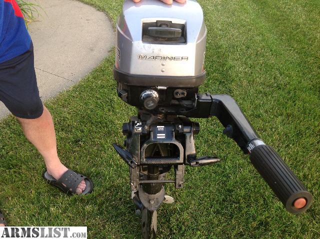 Armslist for sale mariner 6hp outboard motor for Outboard motors for sale in michigan