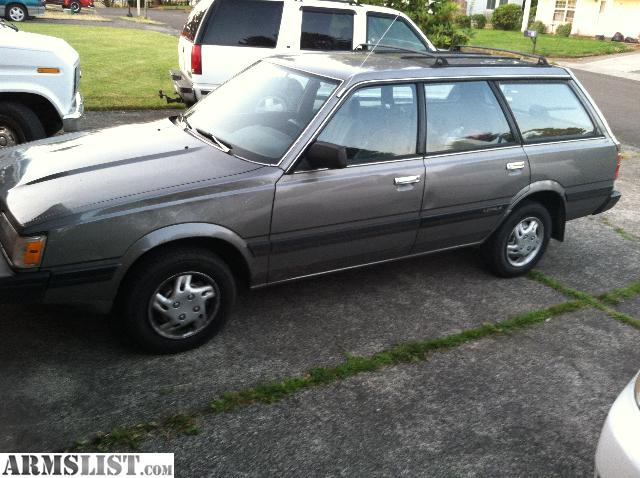 armslist for sale 1991 subaru loyal wagon 4x4 great gas mileage. Black Bedroom Furniture Sets. Home Design Ideas