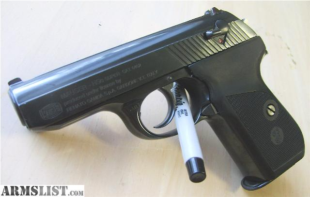 ARMSLIST - For Sale/Trade: MAUSER HSC SUPER .380