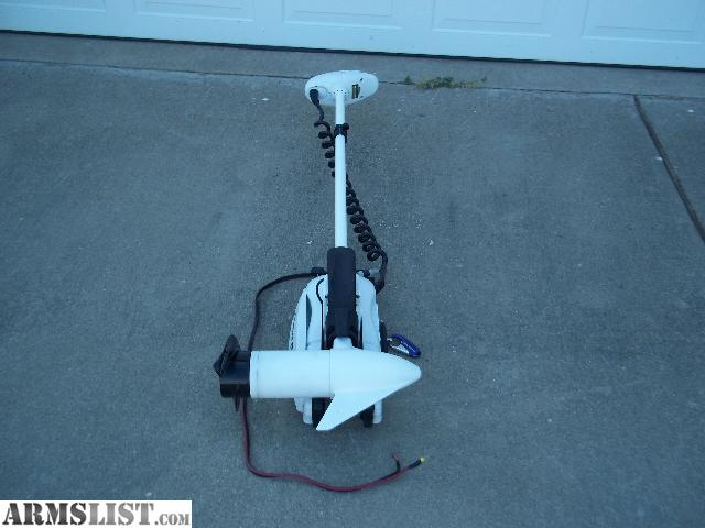 armslist for sale trade minn kota remote trolling motor