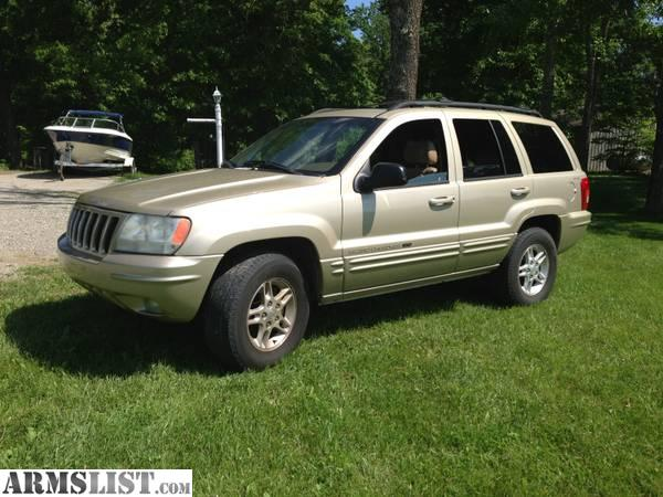 armslist for sale trade 2000 jeep grand cherokee limited 4x4. Black Bedroom Furniture Sets. Home Design Ideas