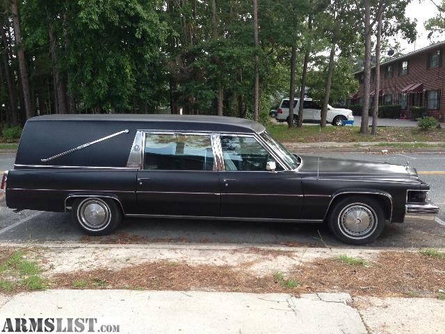 ARMSLIST - For Sale: 1977 Cadillac Hearse