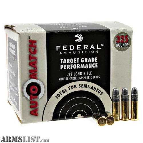 Is for 1 brick of federal ammo great clean ammo 325 round brick as