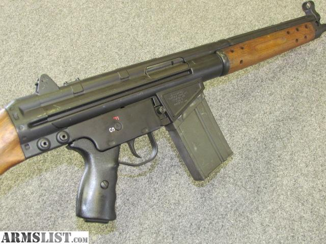 Cetme G3 For Sale: For Sale: CETME/ HK 91/G3 Clone! COOL WOOD