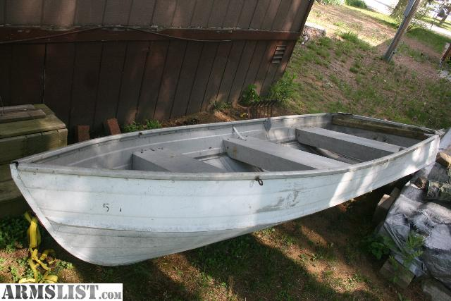 ARMSLIST - For Sale/Trade: Amluminium Row Boat For