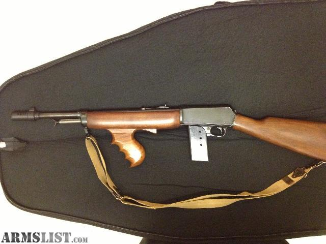 Bonnie And Clyde >> ARMSLIST - For Sale: Winchester M1907 .351cal 20's ...