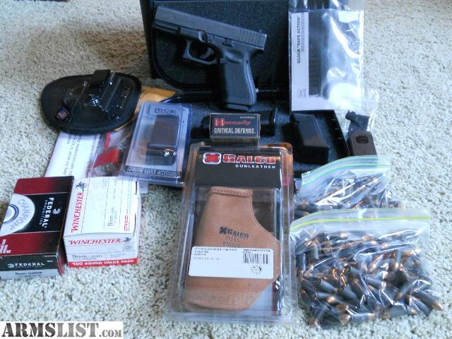 ARMSLIST - For Sale: Gen 4 Glock 19 Conceal Carry Package