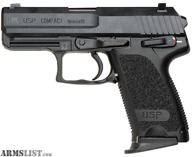 ARMSLIST - Want To Buy: WTB: HK USP Compact 9mm!