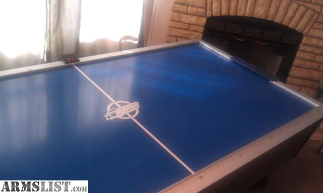 Got A Dynamo Regulation Size Air Hockey Table Looking To Sell Or Trade For  Guns. Plays Great! Lots Of Fun! Looking To Sell For $1000 (paid $1700 Used)  Or ...