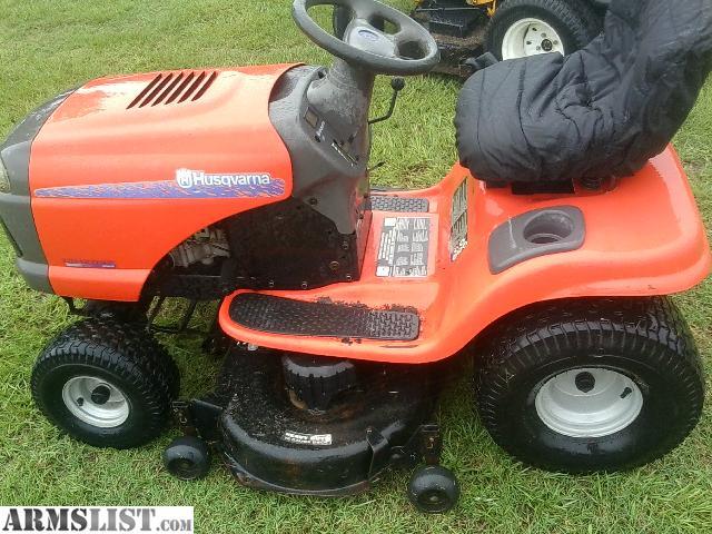 Hushavarna Lawn Tractor Hydrostatic Transmission : Armslist for sale husqvarna riding mower