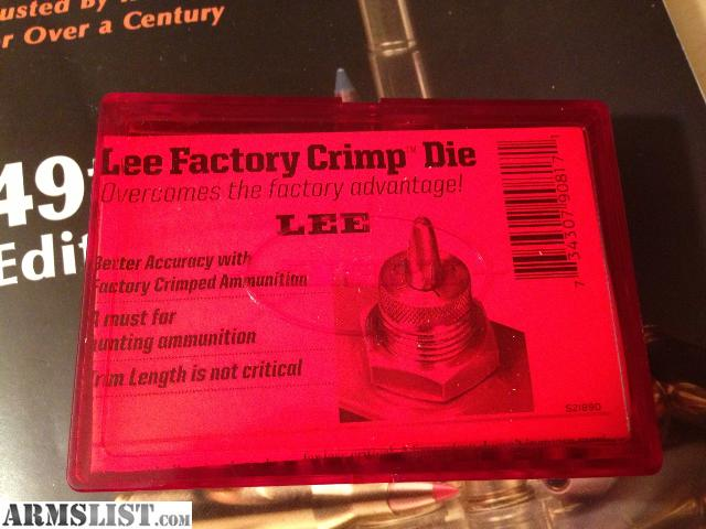 lee 223 factory crimp die instructions