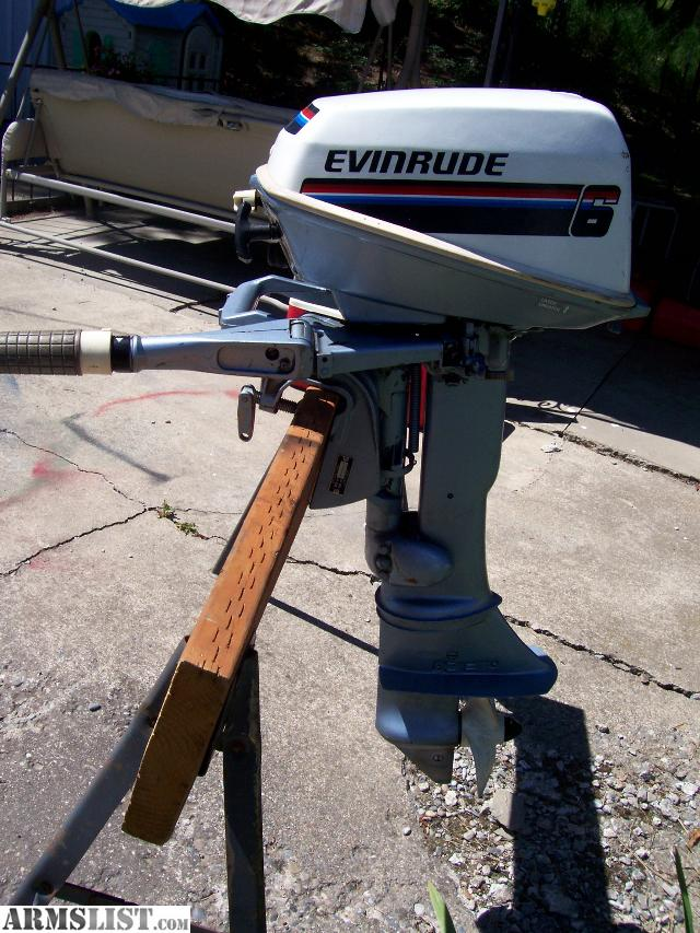 Armslist for sale trade clean 6hp evinrude outboard for 40 hp evinrude outboard motor for sale