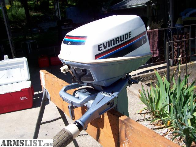 Armslist for sale trade clean 6hp evinrude outboard for 6 hp motor for sale
