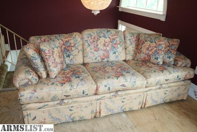 Armslist for sale ethan allen sofa love seat 4 for Sofa arm covers for sale