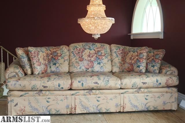 For Sale: Ethan Allen Sofa, Love Seat, 4