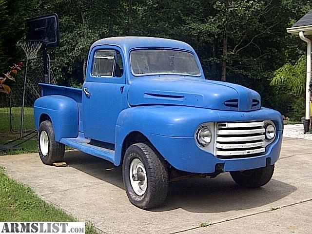 armslist for sale 1949 ford truck 4x4 300 6 cyl 4 spd. Black Bedroom Furniture Sets. Home Design Ideas