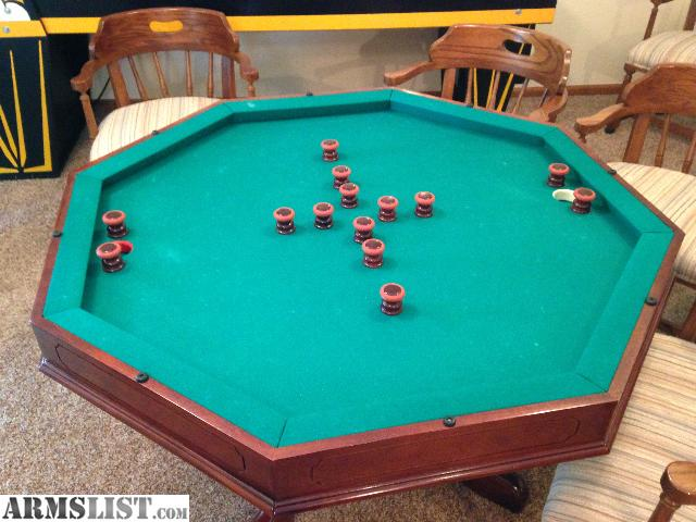 For Sale/Trade: Bruswick 3 In 1 Poker Bumper Pool Table