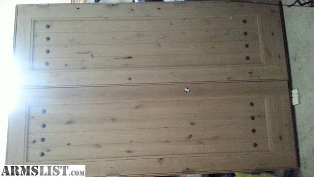 Armslist For Sale French Knotty Alder Entry Door