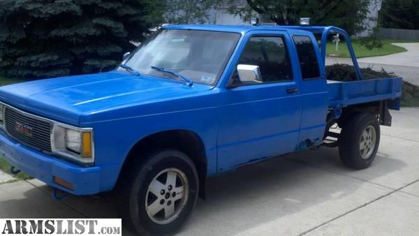 New Vehicles For Sale Kalamazoo >> ARMSLIST - For Sale/Trade: 1991 Gmc Sonoma 4X4 MAKE OFFER