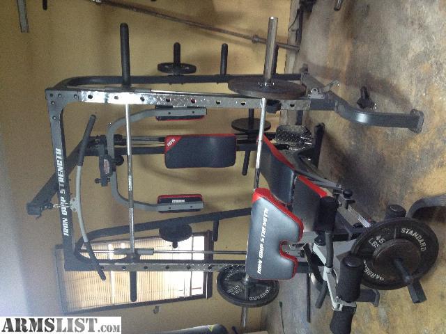 iron grip strength smith machine