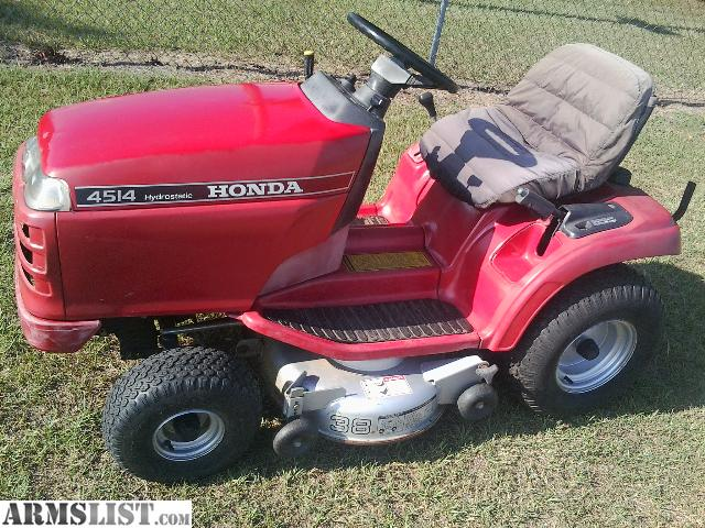 armslist for sale honda hydro lawn tractor. Black Bedroom Furniture Sets. Home Design Ideas